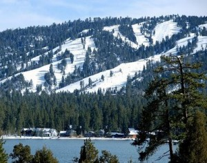 Welcome to the village of Big Bear Lake
