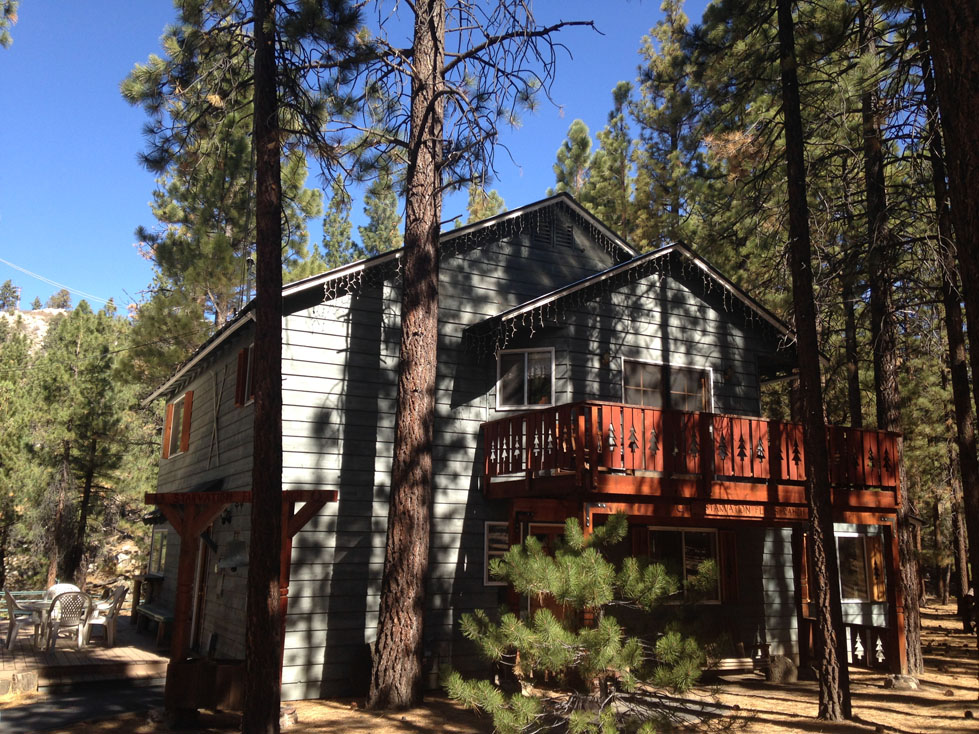 House And Acreage Big Bear For Rent